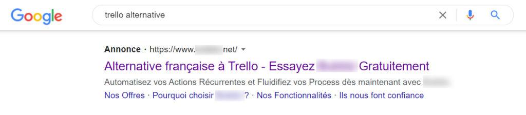 Trello Alternative Google Ads